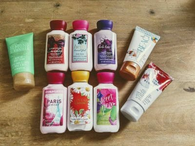 Bath & Body Works Produkte in Italien