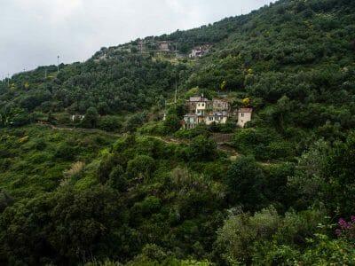 Wanderung Monterosso nach Vernazza Cinque Terre Italien