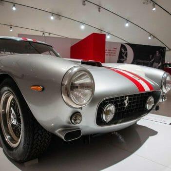 Enzo Ferrari Museum in Modena Italien