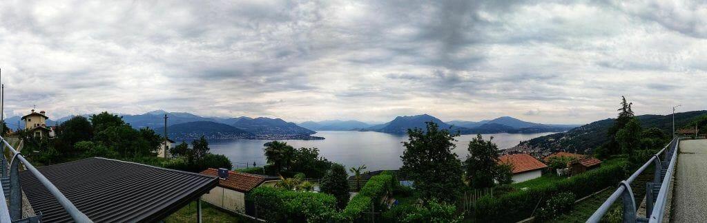 Panorama Lago Maggiore in Italien