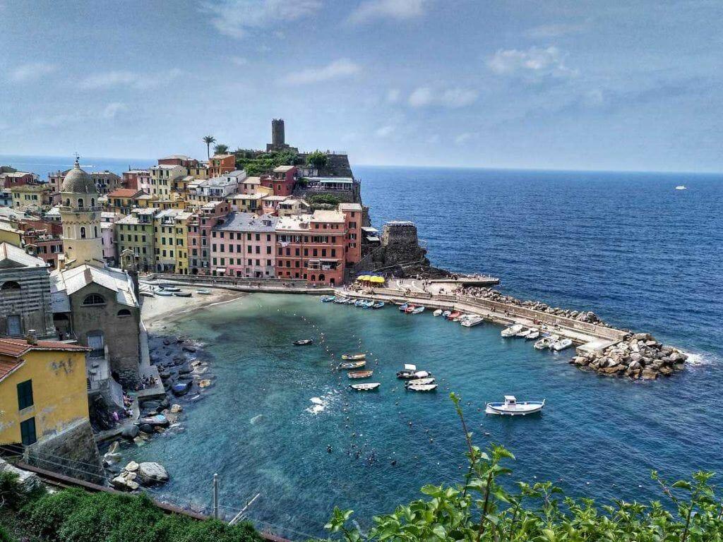 Vernazza im Cinque Terre In Italien