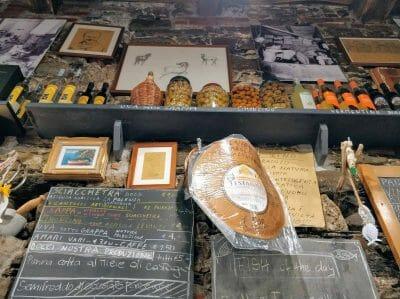 Restaurant in Corniglia in Italien