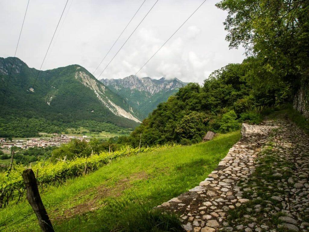 Wanderung zum Lago di Tenno Italien