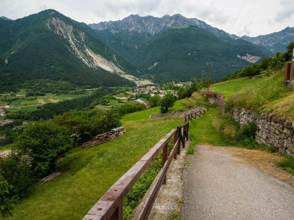Wanderung zum Lago di Tenno