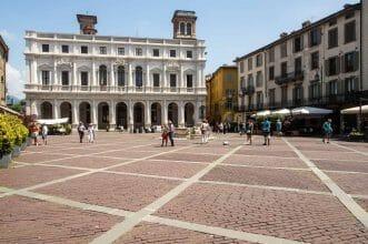 Altstadt Bergamo Italien