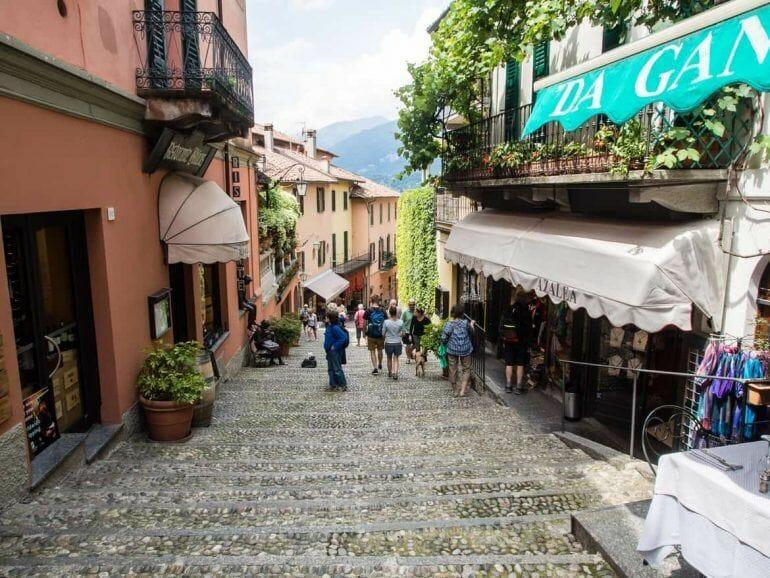Bellagio in Italien am Lago di Como