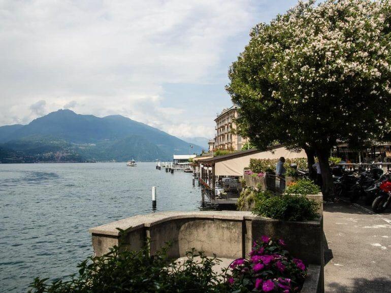 Unterwegs in Bellagio am Lago di Como in Italien
