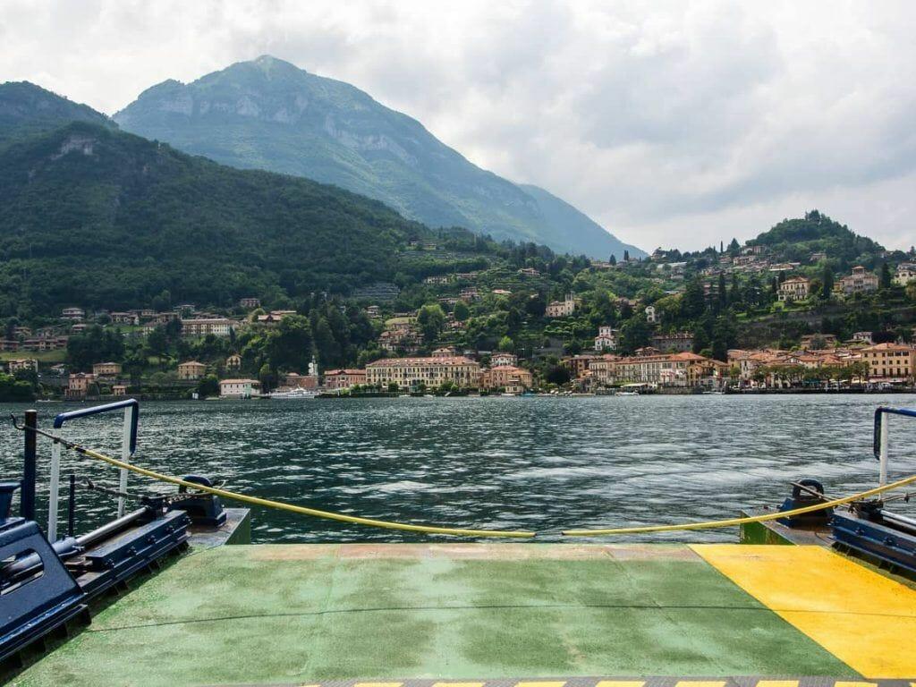 Fähre nach Menaggio am Lago di Como Italien