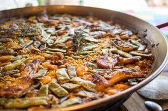 Paella auf Mallorca