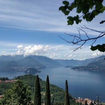 Tolle Aussicht auf den Lago di Como Italien