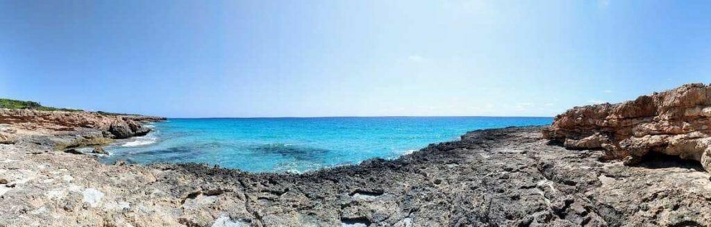 Panorama auf Küstenwanderung Mallorca
