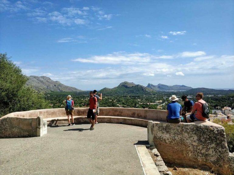 Aussichtspunkt in Pollenca Mallorca