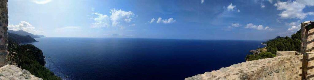 Panorama vom Torre del Verger aus auf Mallorca