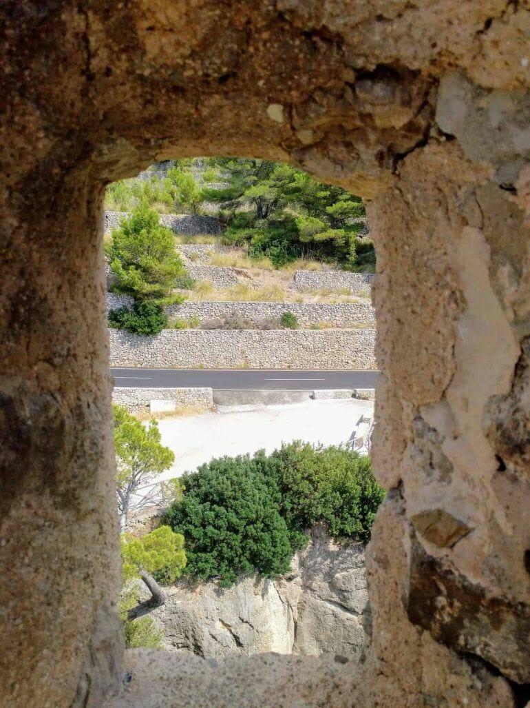 Ausblick vom Torre del Verger auf Mallorca