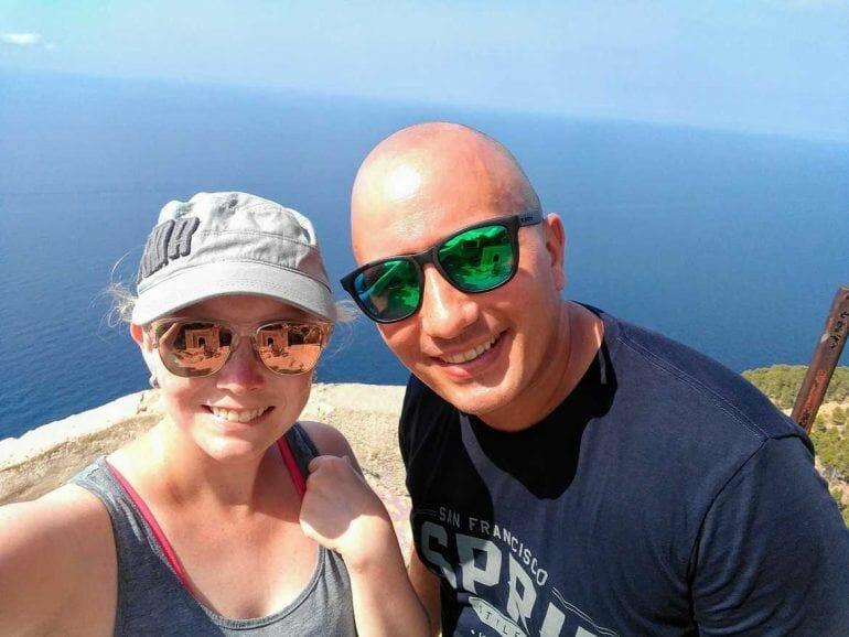 Selfie auf Mallorca