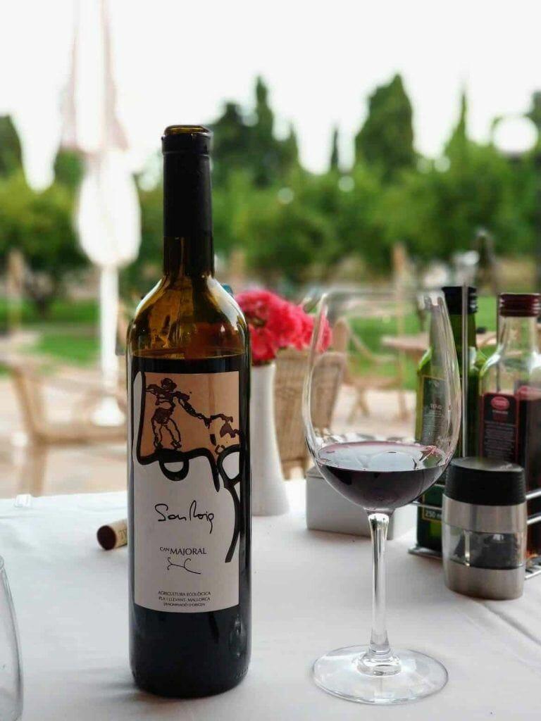Wein auf Mallorca