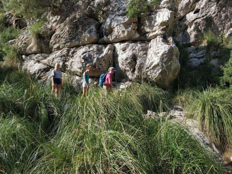 Wanderung Torrent de Parais Mallorca