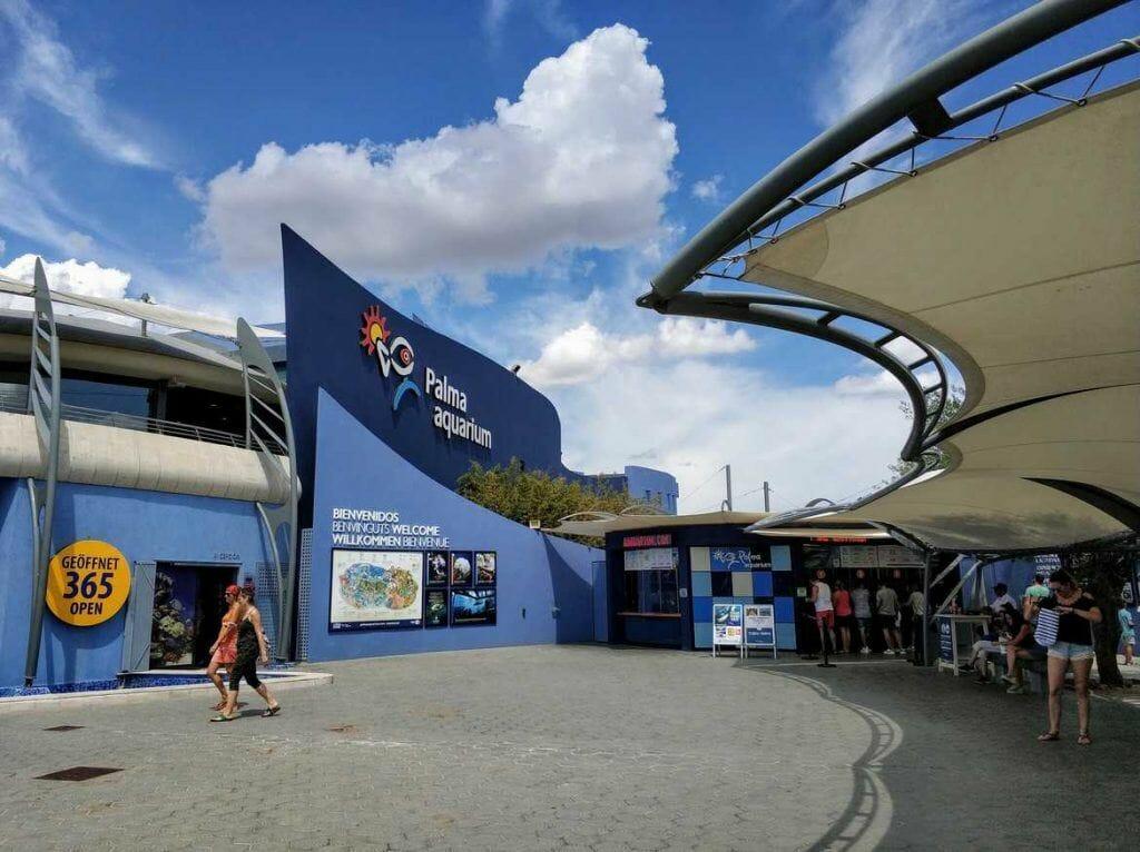 Aquarium Mallorca Eingangsbereich