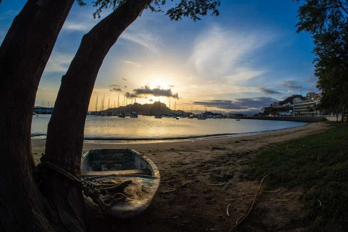 Kapverden Mindelo auf Sao Vicente
