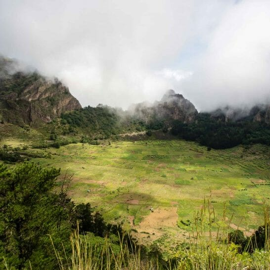 Cova Krater auf Santo Antao Kapverden