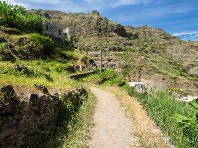 Spaziergang auf Santo Antao Kapverden