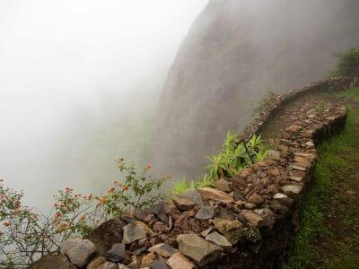 Abstieg ins Paul Tal auf Santo Antao Kapverden