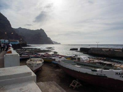 Hafen von Ponta do Sol auf Santo Antao Kapverden
