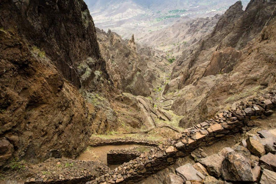 Santo Antao Wanderweg nach Cha de Morte Kapverden