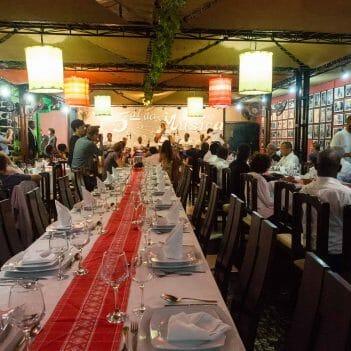 Im Restaurant 5 al da Musica in Praia Santiago Kapverden
