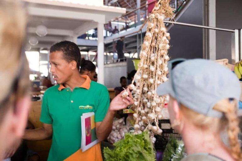 Markt in Praia auf Santiago Kapverden