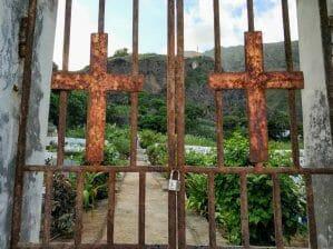 Friedhof in Paul auf Santo Antao Kapverden