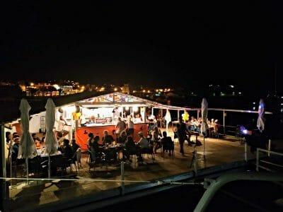 Marina Mindelo Floating Bar auf Sao Vicente Kapverden