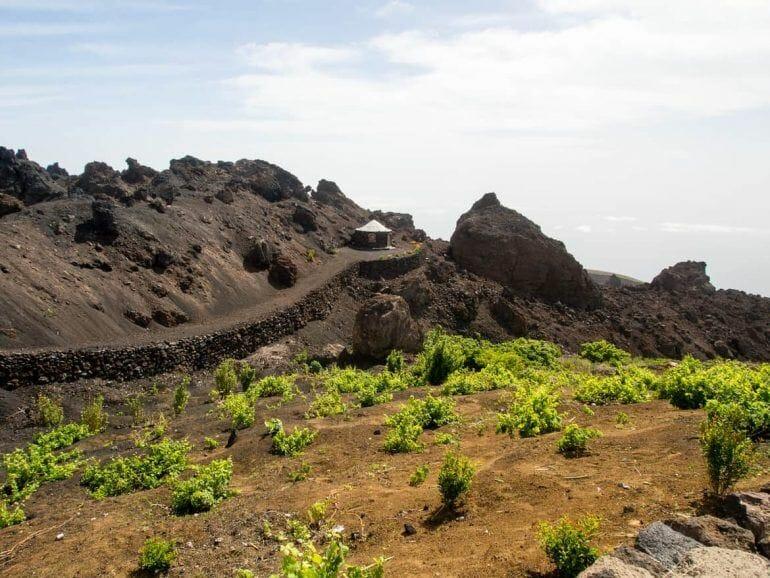 Aussichtspunkt auf Fogo Kapverden