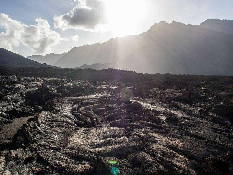 Lava auf Fogo Kapverden
