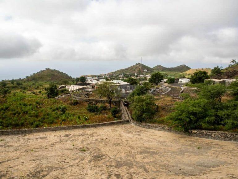 Sozialbau auf Fogo Kapverden