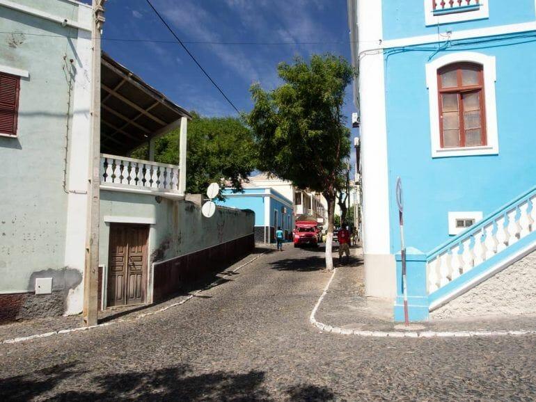 Stadtrundgang durch Sao Filipe auf Fogo Kapverden