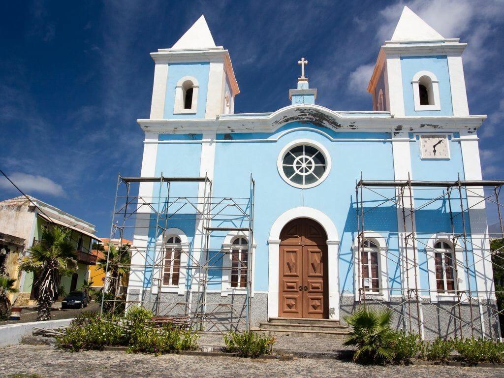Kirche in Sao Filipe auf Fogo Kapverden