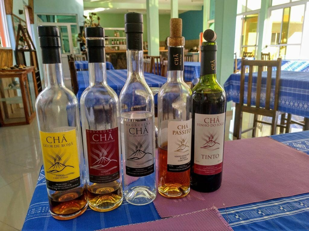Weinprobe auf Fogo Kapverden