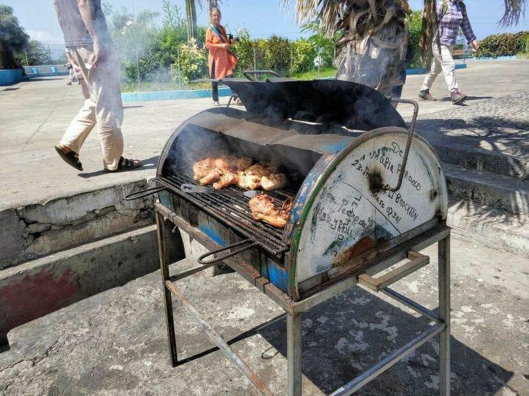 Grill in Sao Filipe auf Fogo Kapverden