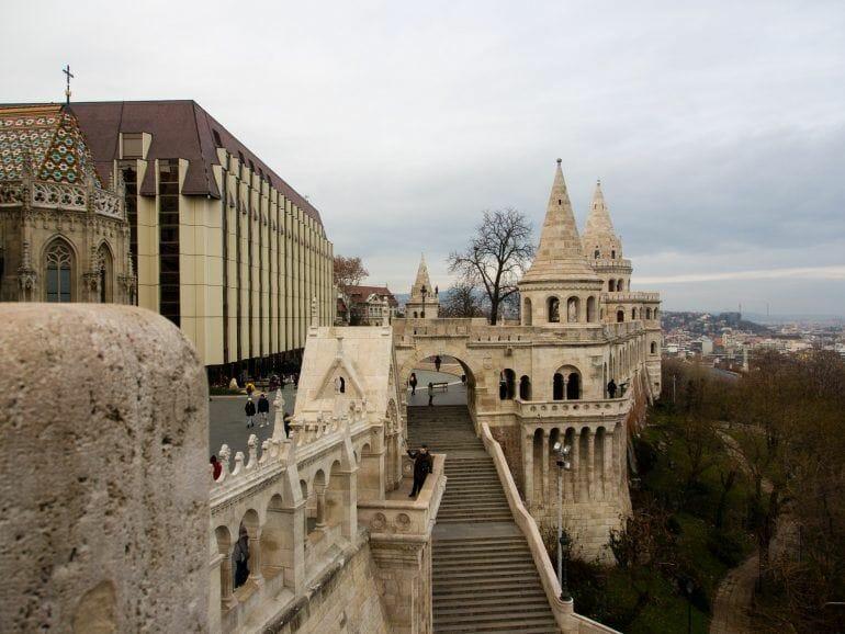 Fischerbastei in Budapest Ungarn