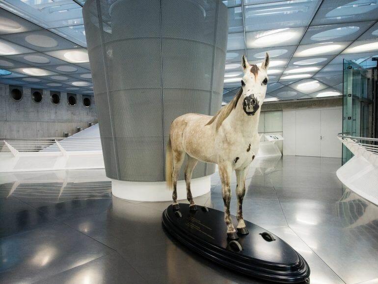 Pferd im Mercedes-Benz Museum