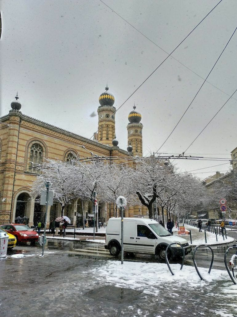 Synagoge in Budapest