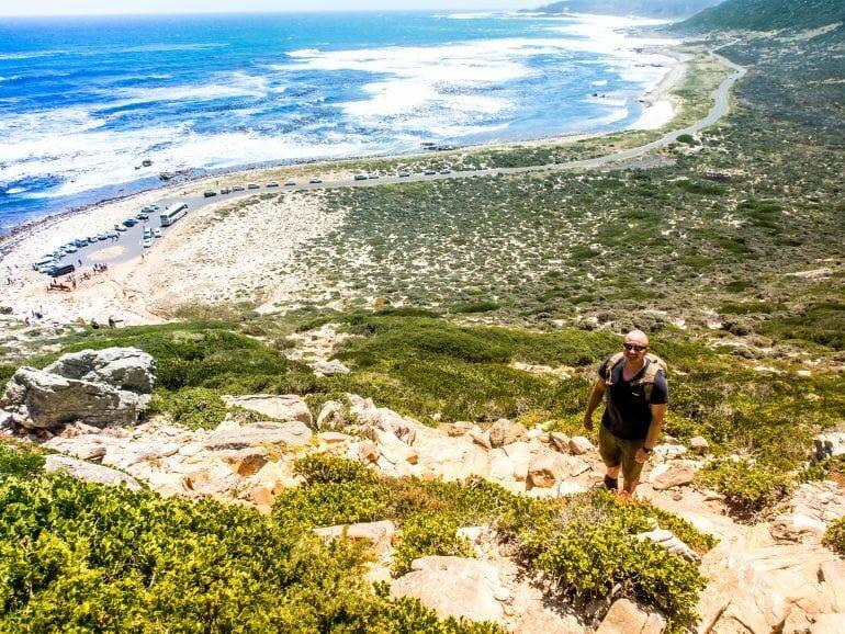 Stephan am Kap der Guten Hoffnung in Südafrika
