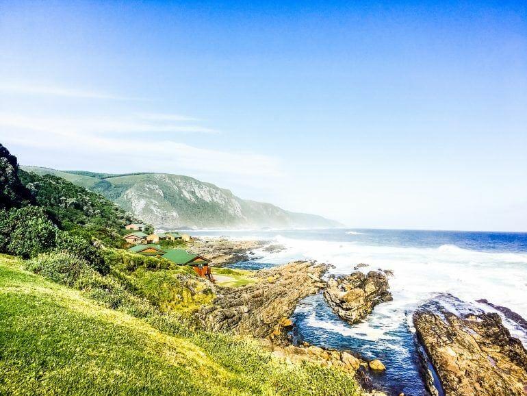 Tolle Küste im Tsitsikamma Nationalpark in Südafrika