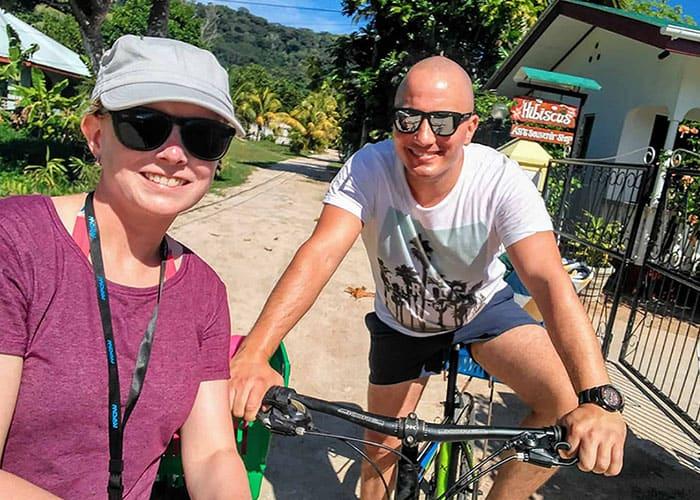 Foto von Sandra und Stephan auf den Seychellen