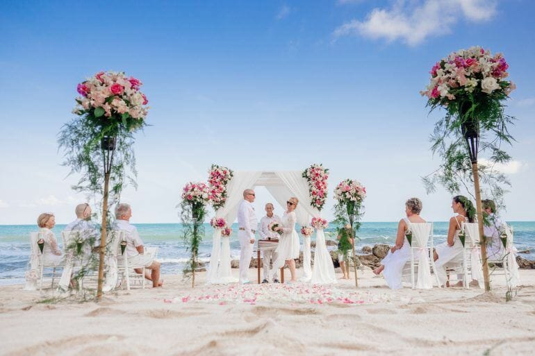 Hochzeit am Strand auf Koh Samui Thailand