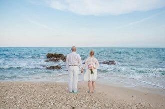 Hochzeit auf Koh Samui Blick aufs Meer