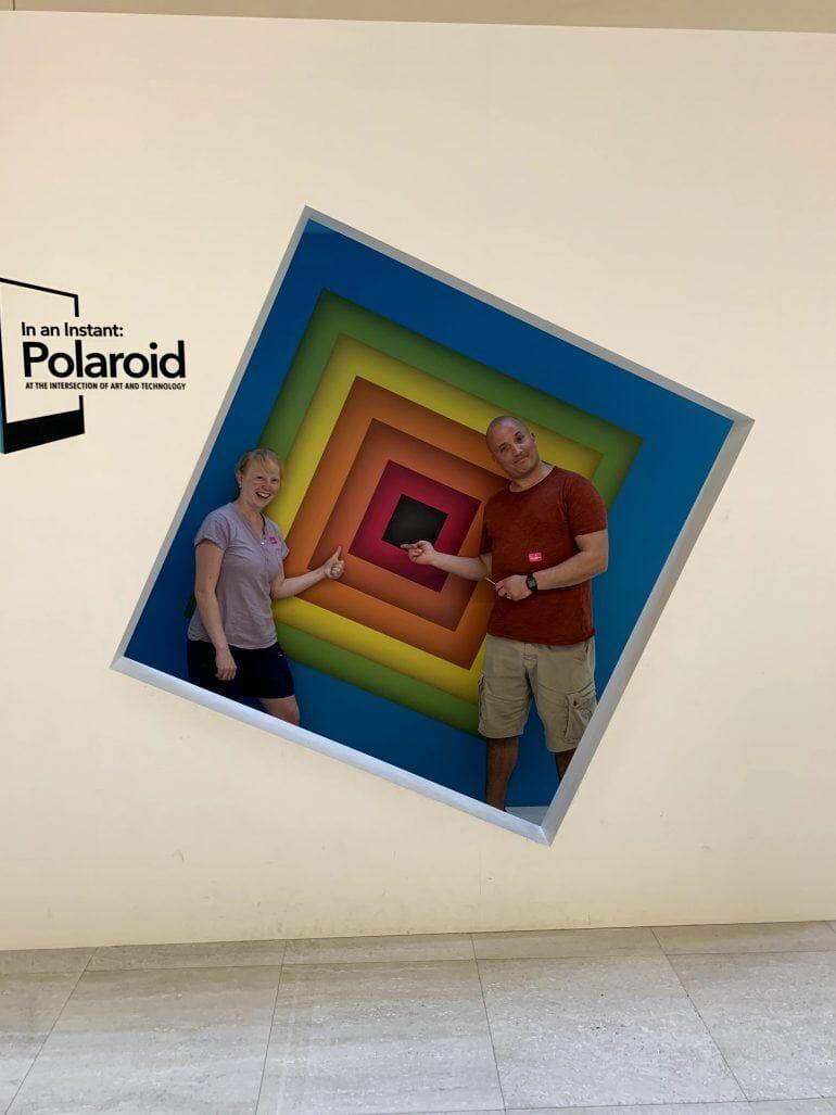 Polaroid Ausstellung im National Museum Singapur