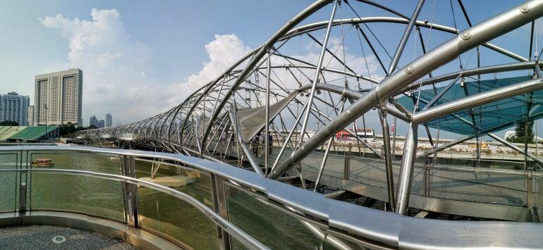 Helix Bridge Singapur