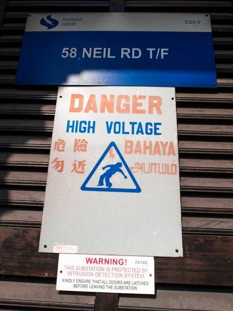 High Voltage Singapur